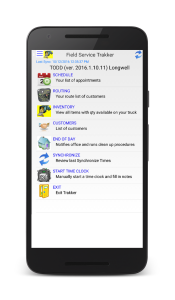Field Service Management Software Android App